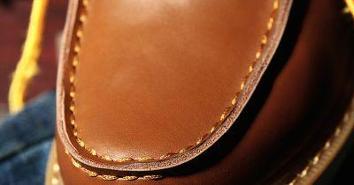 Bottines Vintage pour Homme Work Boots Cuir