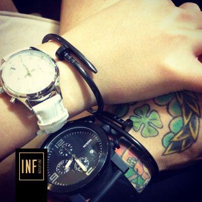 Bracelet minimalist en forme de clou pour homme femme
