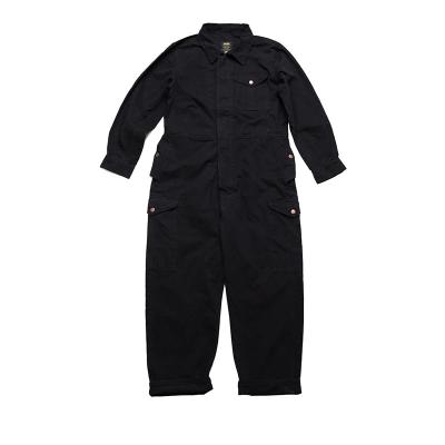 Combinaison ample en coton unisex avec multi poches
