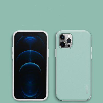 Coque Iphone12 et iphone 11 en silicone anti-drop couleur macaron