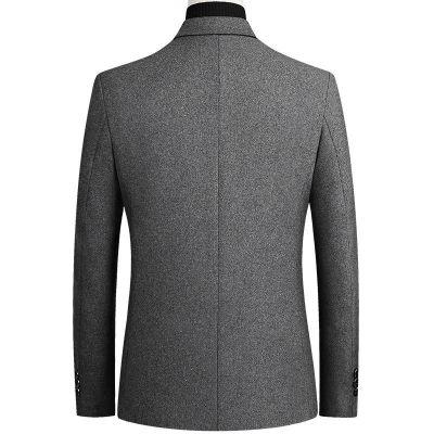 Costume en laine mélangée pour homme