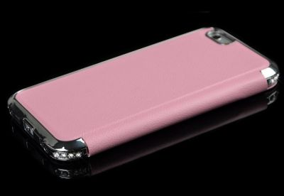 Etui iPhone 6 ou 6 Plus Protection Lignée Strass Diamants