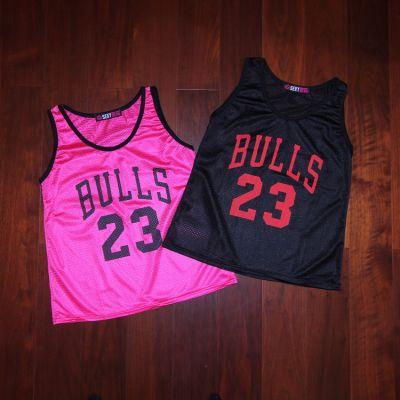 Maillot Basket Femme Swag Bulls 23 Jordan Rose Noir