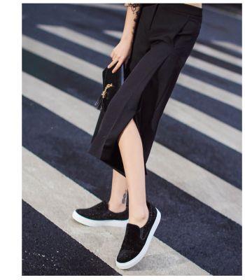 Pantacourt Coupe Large Femme Été Fashion Classique