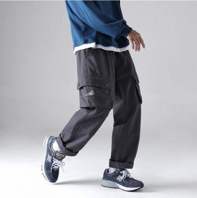 Pantalon lâche baggy pour homme avec multi-poches