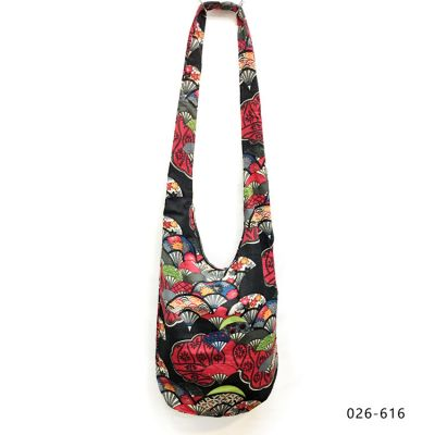 Sac bucket bag en coton imprimé pour femme