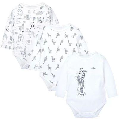 Set de 3 body pour bébé à manches longues enfant 3-24 mois