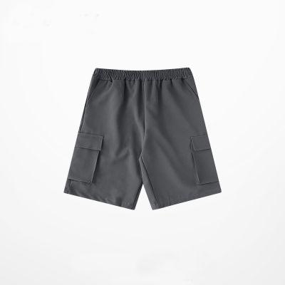 Short ample pour hommes avec de grandes poches des deux côtés taille élastique