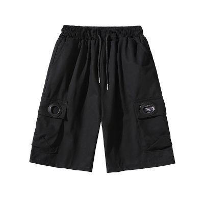 Short grande taille pour homme avec de grandes poches
