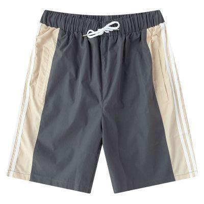 Shorts tissu pour homme avec bandes côtés bermuda été