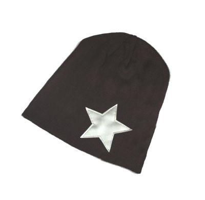 Bonnet style beanie star en polaire avec Design étoile