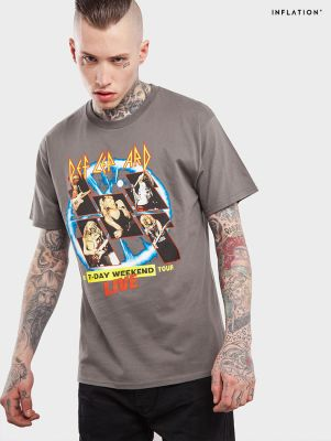 T-shirt Def Lep Ard Inflation pour homme