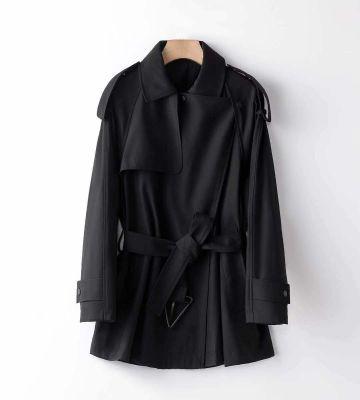 Trench-coat court femme