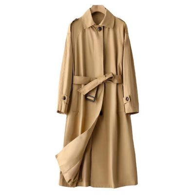 Trench-coat long pour femme