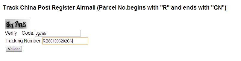 envoi china post